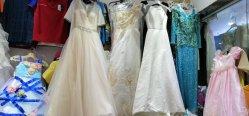 Indumenti delle azione del vestito dalla festa nuziale di disegni di Differet