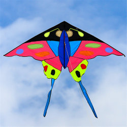 Les enfants Décoration drôle Toy Butterfly Animal Power Wind Stunt Kite