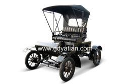 Mini-Classic Carro Eléctrico mobiliário antigo campo de veículos utilizados para Resort