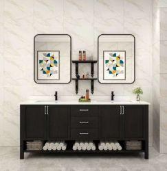 1800mmの大きいサイズの倍の洗面器の木製のホテルの浴室の現代虚栄心