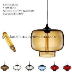 De uitstekende Hangende Lamp van het Glas voor het Huis van de Koffie/de Club van de Staaf/van het Huis/van de Gebeurtenis/van de Nacht