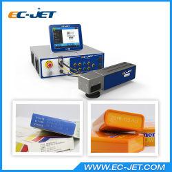 Высокая скорость волоконно-лазерной печати QR Code на крышку расширительного бачка (EC-лазер) для маркировки и кодирование ПЭТ упаковки продуктов питания
