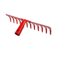 Ancinho de jardim de aço de cor vermelha em alta qualidade (SG-080)