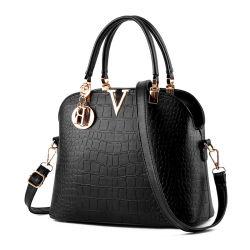 أرخص حقائب اليد للنساء حقيبة يد من السواد مع سعر عادل حقيبة يد جلدية