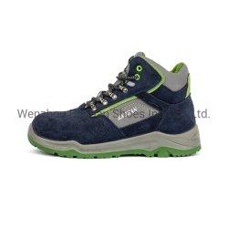 人または女性のためのスエードLeather/PUのスポーツ作業安全靴