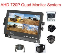 7inch Ahd 720p 쿼드 쪼개지는 백업 뒷 전망 시스템