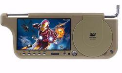 "Parasol de Coche 7"", reproductor de DVD de DVD/VCD/SVCD/CD/MP5/MP3/MP4/ RMVB / +FM transmitir"
