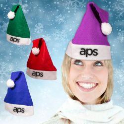 لباد [سنتا] كلاوس قبعات - يصنّف ألوان عيد ميلاد المسيح