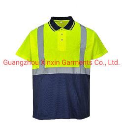 De T-shirt van het polo hallo namelijk PPE de Droge Geschikte Bouw van de Slijtage van het Werk Eenvormige Beschermende (W890)