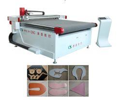 高精度ファブリック革PVC振動のナイフの打抜き機の工場価格