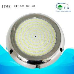 Pi68 316ss cheios de resina 6-18 W Piscina debaixo de lâmpada LED