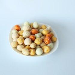 Зеленые легкие закуски соевого соуса вкус красочные арахис для пищевых продуктов