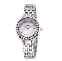 Relógios personalizados de senhoras Quartz Jóias Relógios de Aço Inoxidável (WY-157)
