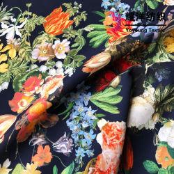 Impresos digitales Natual de ropa de fibra de tela para ropa de mujer
