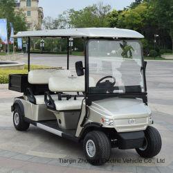 Zhongyi 4 Seater 전기 골프 화물 트럭 트로이 사람 건전지