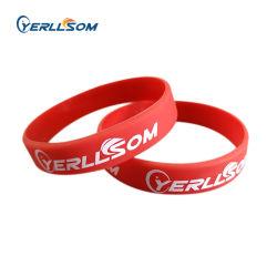 Alta qualidade personalizados personalizados pulseiras de borracha pulseiras para eventos Y20122309