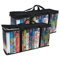 Organizzatori della stretta dei sacchetti di memoria dei libri DVD
