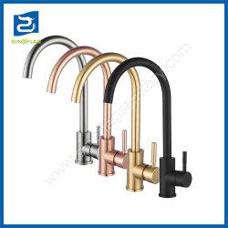 CE оптовой высокое качество латунные струей воды санитарным электродвигателя смешения воздушных потоков воды кухня под струей горячей воды