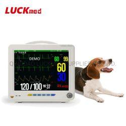 Bewegliches VeterinärMulti-ParameterÜberwachungsgerät-Tierarzt-Monitor-mit Berührungseingabe Bildschirm für Tiere/Tierarzt