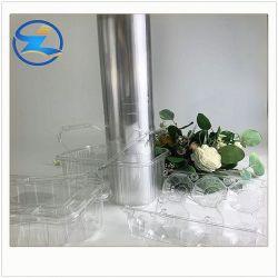 Starkes Vakuum, das Plastikdeckel-Kappen-Tellersegment-gutes Stabilität transparentes Winkel- des Leistungshebelshaustier Belüftung-Drucken-steife Blatt-Filme PS-pp. für medizinischen Plastik bildet