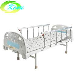 Preiswerter Preis-flaches reizbares krankes Bett-Krankenhaus-Bett-Klinik-Bett ohne Fußrolle für Verkauf