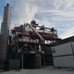 Торговая марка Luda переработанных асфальт завод с Ebico заслонки смешения воздушных потоков газа горелки на рынок Казахстана