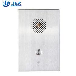 Banque Whetherproof téléphone VoIP sans fil GSM téléphone Intercom en acier inoxydable