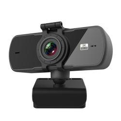 Full HD 2K de enfoque automático Webcam Micrófono incorporado mini ordenador portátil de la Cámara Cámara Web para la emisión en directo de la cámara USB Videollamadas
