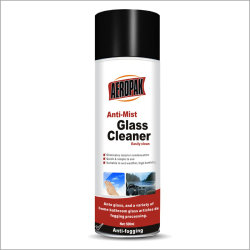 Reinigingsmachine van het Glas van Aeropak 500ml de Mist voor het Interne Venster van het Voertuig van de Auto met Certificaat RoHS