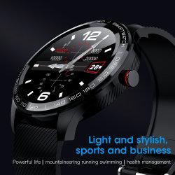 China Digital Promocional Kids Senhoras Smart IPS de pulso relógios de toque de tela cheia com saúde GPS Tracker IP68 Fitness Bluetooth APP Dom Waterproofas de temperatura