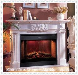 VillaまたはHotel Decorationのための性質Marble Fireplace