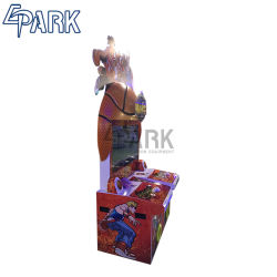 Adulte Epark Coin exploité Street Machine de jeu de tir de basket-ball de boxe