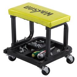Reparación de automóviles de alta calidad silla asiento taburete con bandeja de herramientas