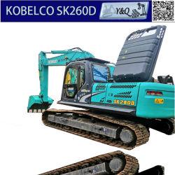Utilisé de bonne qualité/Japon/26tonne Kobelco SK260d/SK230/SK200 excavatrice chenillée