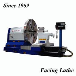 Alta qualità che affronta il tornio orizzontale di CNC per la flangia di giro, muffa del pneumatico