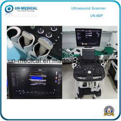 19 Ultrasone klank van Doppler van de Kleur van de Apparatuur van de Diagnose van de duim de Medische Volledige Digitale 4D met het Dubbele Scherm