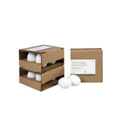 عادة علامة تجاريّة يطبع [إك] ودّيّة يغضّن [كرفت] بيضة ورقة هبة تعليب يعبّئ علبة صندوق