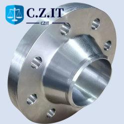 ASTM B16.5 تجويفة مع تيتانيوم العنق الجرا2، Gr5، gr7، Gr9، Gr12، شفاه الأنابيب B381 B363 Titanium Pipe