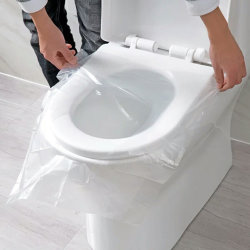 изготовленный на заказ<br/> биоразлагаемых одноразовые туалетной бумаги сиденья
