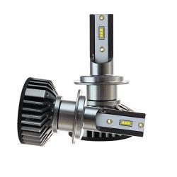 Sistema de iluminación automática Zes Canbus H1 H11 H13 9005 9006 9007 Las luces de coche de F2 Faro LED Bombilla LED H7 H4
