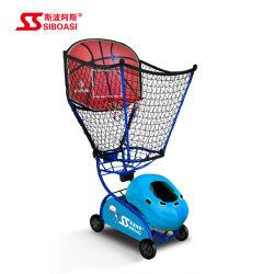 Actionnées à la main de luxe Shootting de basket-ball de la formation pour les enfants de la machine