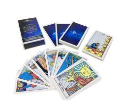 Banheira de vender placas Tarot Personalizado, lazer e entretenimento de jogos de tabuleiro, cartões de póquer personalizado e cartões de xadrez