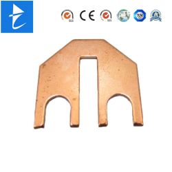 Soem-hohe Präzisions-Metallrotes Kupfer, das elektrischer Kontakt-Falz-Terminal stempelt