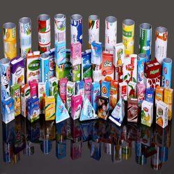 Асептической упаковки бумаги