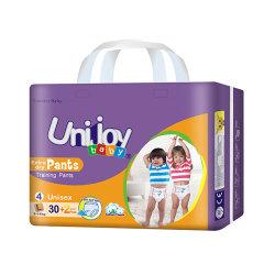 Prémio grossista OEM personalizados Diaposable macio de algodão calças de fraldas para bebés descartáveis para a África