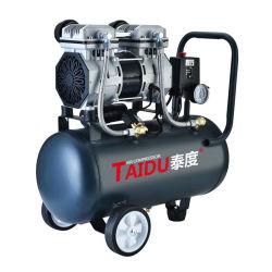 AC van de Hoge druk van de Stilte van de Schroef van Oilless de Draagbare Compressor van de Pomp van de Lucht van de Zuiger van de Olie Vrije