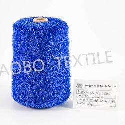 il filato di nylon di 1.3cm con Lurex imita i colori di tintura del filato di nylon della piuma del visone 100%
