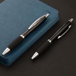 주문 로고 공 점 펜을%s 가진 선전용 선물 광고 펜 금속 제동자 펜