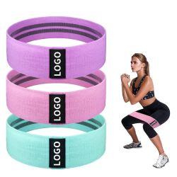 Custom осуществлять фитнес-сопротивление диапазон фиксации учебные тренировки йога ткань эластичных ремня безопасности