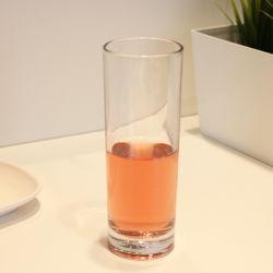 Cristalleria di vetro 11oz della tazza dell'acqua della bevanda calda cilindrica del tè della famiglia